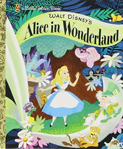 Walt Disney's Alice in Wonderland (Little Golden Books) (Walt Disney World In Pictures compare prices)