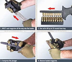 Elite Tactical Systems ETS CAM Speed Loader for 9mm .40 S&W Magazines ETSCAM-9-40