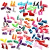50 Pairs Different High Heel Shoes Bo…