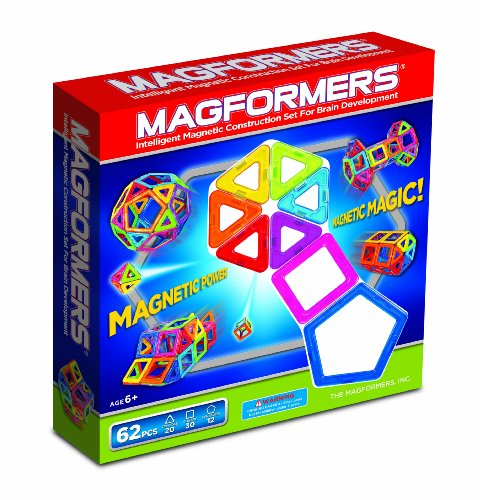 Magformers Magnetic Building Construction Set - 62 Piece Extreme FX Set