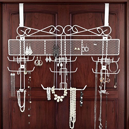 Organizing Jewelry Valet (White)