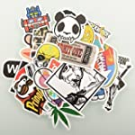 (Pack of 100) Stickers Skateboard Sno...