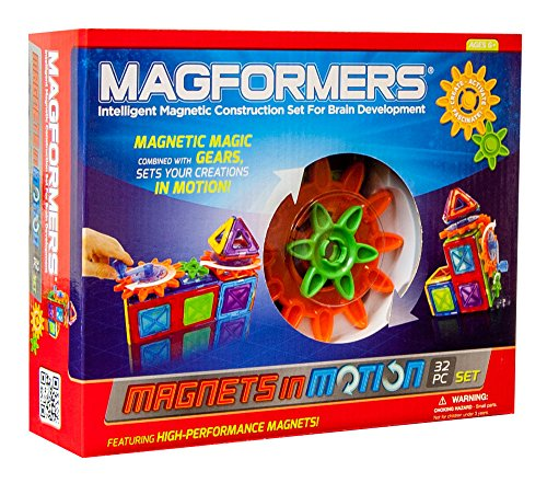 Magformers Magnets in Motion