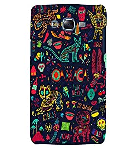 Citydreamz Abstract Wild Animals/Jungle Hard Polycarbonate Designer Back Case Cover For Samsung Galaxy On5