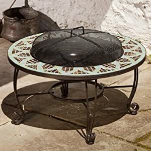 Alfresco home 28 8717 lemans 33 1 2 inch round for Amazon prime fire pit