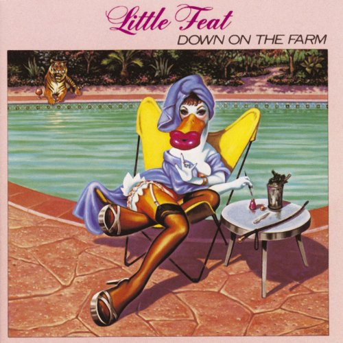 Original album cover of Down On The Farm by Little Feat