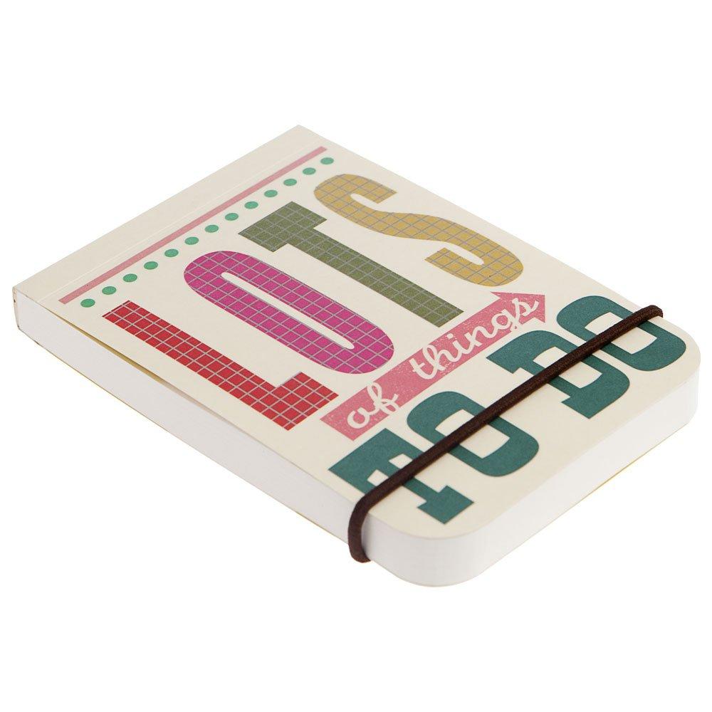 Caroline Gardner Say So Little Jotter Bold Block Pocket Notebook