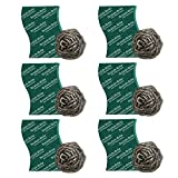 #8: Scotch-Brite Steel Ball (Pack of 6) and Scrub Pad (Pack of 6)