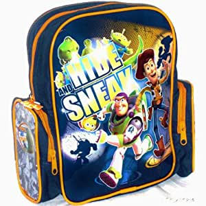 Toy Story 3 'Hide and Sneak' Children's Backpack Bag Featuring Woody and Buzz