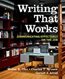 img - for Writing That Works: Communicating Effectively on the Job book / textbook / text book
