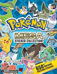 Pokemon Mega Sticker Collection Pokemon Pikachu Press