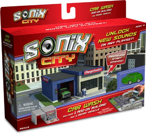 Sonix City Car Wash Building Add-on - 1