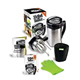 Magical Butter MB2E Botanical Extractor Machine with Magical Butter official 7 page Cook Book (Color: silver, black)
