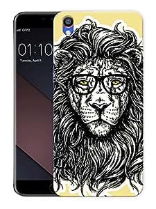 "King Jungle EnhancedPrinted Designer Mobile Back Cover For ""Oppo F1 PLUS"" (3D, Matte, Premium Quality Snap On Case)"