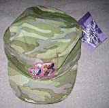 Justin Bieber Hat Green Camo with embroid pink initials