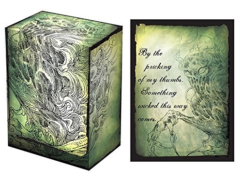 100 Legion Something Wicked Deck Protectors & Deck Box Combo Set Legion Supplies Matte Sleeves 2-Packs - Standard Magic the Gathering Size