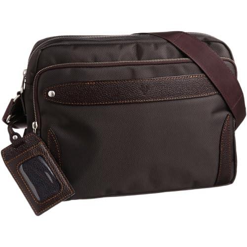 [ウルティマ トウキョウ] ultima tokyo varietas ベルナルド ショルダーバッグ(ソフトパイル生地ポケット・パスケース付き) 28802 09 (ブラウン)