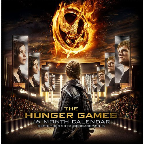 The Hunger Games 2013 Wall Calendar