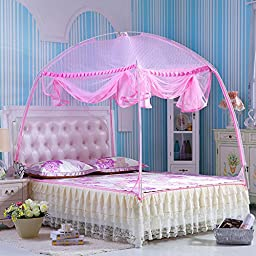 CUTI Portable Folding Mosquito Net Bed Canopy Curtains Travel Camping Play Tent