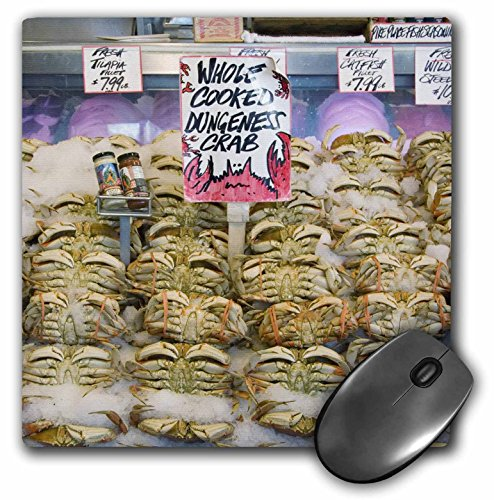 Danita Delimont - Markets - Washington, Seattle, Pike Place Market crab - US48 CSL0051 - Charles Sleicher - MousePad (mp_95284_1)