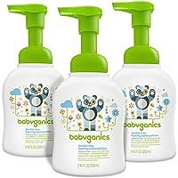 3-Pack Babyganics Alcohol-Free 8.45oz Foaming Hand Sanitizer Pump Bottle, Fragrance Free