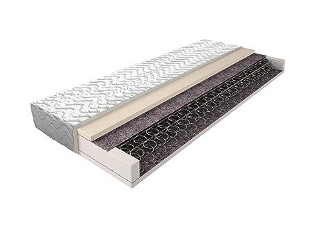 Matratze mit Bonellfederkern 018 - Größe: 120 x 200 cm, Höhe: 16 cm