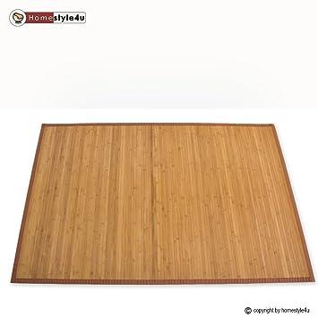 Tapis en bambou paillasson plancher plancher de tapis tapis de sol natte - Tapis bambou grande taille ...