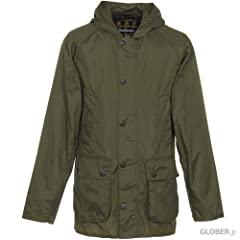 Hooded Bedale SL Nylon MCA0338: Khaki
