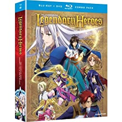 Legend of the Legendary Heroes: Complete Series [Blu-ray/DVD Combo]