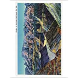 Badlands National Park, South Dakota View Of The Erosion On The Rocks (Playing Card Deck 52 Card Poker Size With...