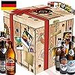 """Geschenkbox """"BESTE BIERE DEUTSCHLANDS"""" entdecken + Geschenkkarton + gratis Geschenkkarten! Z.B. Schlappeseppel + Tegernseer + Weihenstephaner + Berliner Pilsener Kindl-Schultheiss + K�lsch Privat-Brauerei Reissdorf + Brauerei Eller Pils + Einsiedler Brauhaus Landbier klassisch + Haller L�wenbr�u Meistergold + Rother Br�u Pils. Ein tolles Biergeschenk f�r M�nner. Bierset + Geschenk, Biersorten aus ganz Deutschland."""