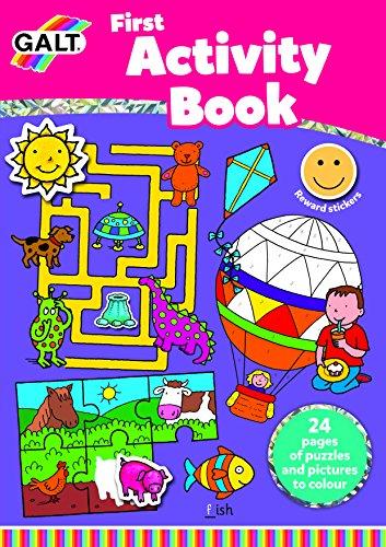 Galt Toys Inc First Activity Book