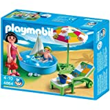 Playmobil 4864 - Vacaciones Piscina Para Niños