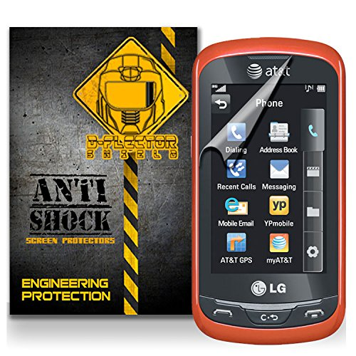 D-Flectorshield Lg Xpression 2 At&T Anti-Shock/Military Grade/ Tpu /Premium Screen Protector / Self Healing / Oleophobic Material / Ez Install / Ultra High Definition / Scratch Proof / Bubble Free Install / Precise Laser Cuts front-425035