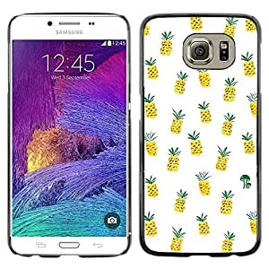 Omega Covers - Snap on Hard Back Case Cover Shell FOR Samsung Galaxy S6 - Weed Cannabis 420 Smoke
