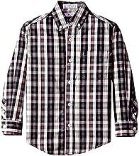 Izod Little Boys39 Long-Sleeve Plaid Woven Shirt