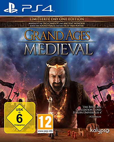 Kalypso PS4 Grand Ages Medieval Playstation® 4 USK 6 Strategie