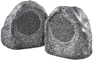 OSD Audio RX540 Compact Rock Speakers (Pair, Granite Grey)