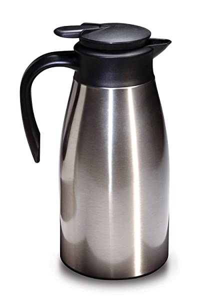 Stainless Steel Vacuum Insulated Thermal Coffee Carafe Via Amazon