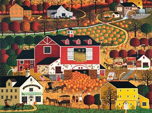 Charles Wysocki Butternut Farms Jigsaw Puzzle, 1000-Piece - 1