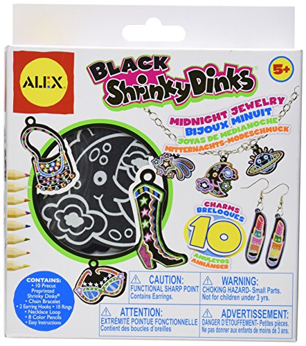 Shrinky Dinks Midnight Jewelry