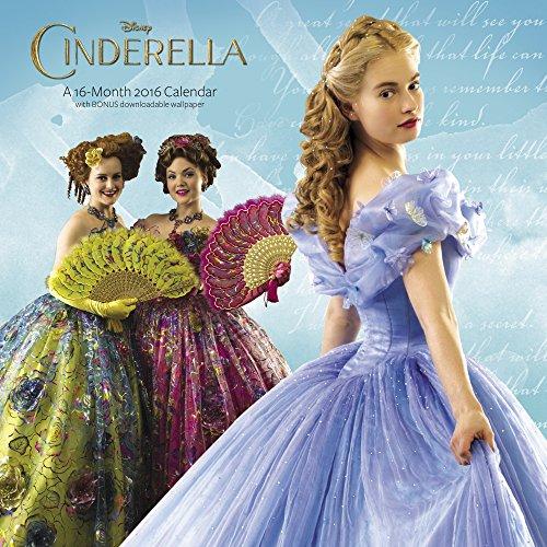 Cinderella Wall Calendar 16 Month (2016)