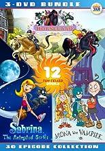 Girls Animation Bundle - Horseland  Sabrina  Mona the Vampire