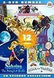 Girls Animation Bundle - Horseland + Sabrina + Mona the Vampire