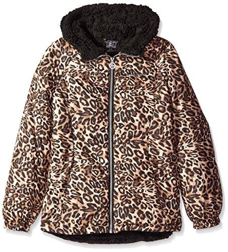 ZeroXposur Big Girls' Daisy Midweight Jacket, Multi Wink, X-Large/16