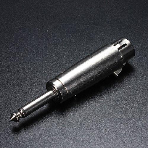 """3-Pin Xlr 1/4 """"6.35Mm Input Jack Male Mono Plug Mic Adapter"""