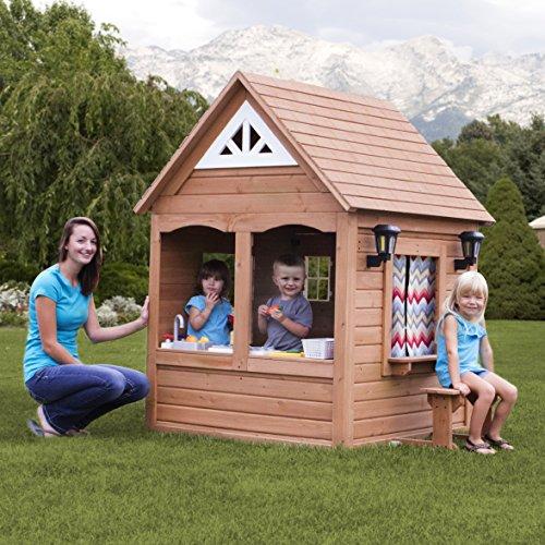 backyard discovery aspen all cedar wood playhouse epic