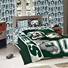 Licensed Disney Mickey Mouse NFL New York Jets Character Comforter and Sham Twin Set