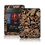 TaylorHe Colourful Decal Vinyl Skin for Amazon Kindle Fire HD 8.9 Ultra-slim protection with pretty patterns MADE IN BRITAIN Ancient Wood Texture
