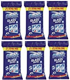 6 x Duzzit Glass Window Mirror Cleaning Wipes Pack Of 50